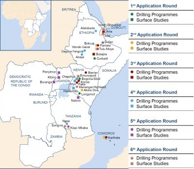 East Africa GRMF results of 6th round and EOI announced