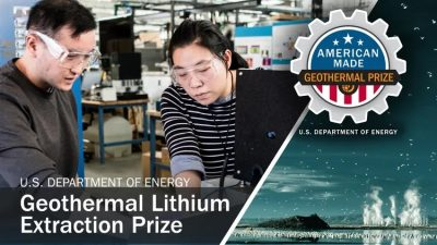 U.S. Geothermal Lithium Extraction Prize Challenge