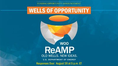 Funding available – U.S. DOE Wells of Opportunity
