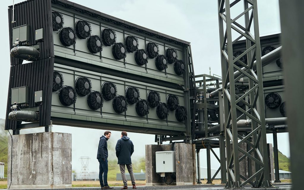 World's largest direct air capture and CO2 storage plant on in Iceland